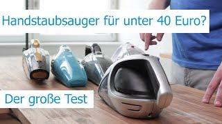 Akku-Handstaubsauger unter 40 Euro im Test | Severin, Dirt Devil, Medion uvm.