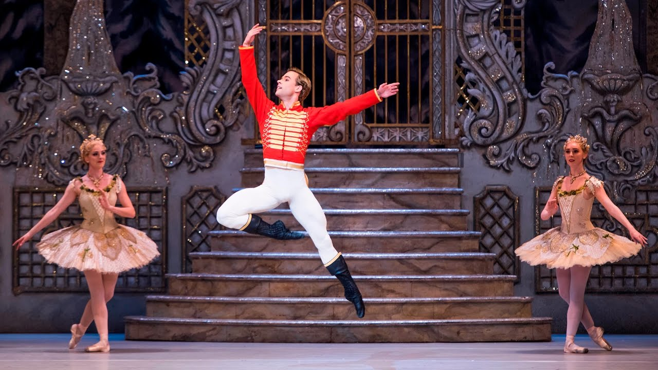 The Nutcracker Hans Peter S Mime Alexander Campbell The Royal Ballet Youtube