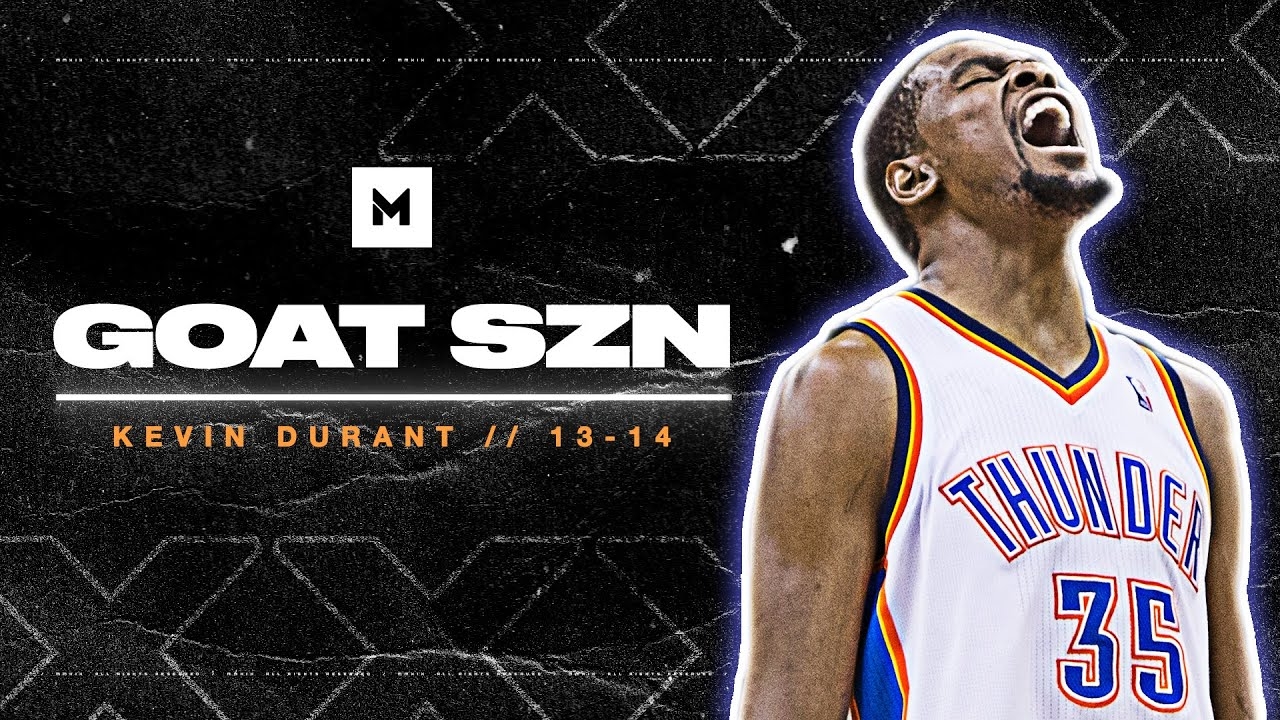 Download Kevin Durant's HISTORIC MVP Season In 13-14! 32ppg | GOAT SZN