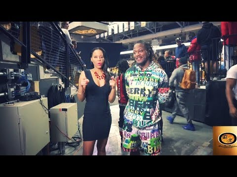 Drea Avent interviews NFL Legend Pacman Jones at the 2019 Pro Bowl