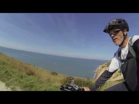 Isle of Wight bikepacking trip