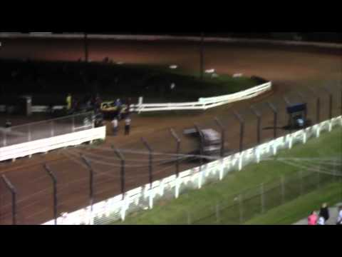 Williams Grove Speedway 410 Sprint Car Highlights 8-29-14