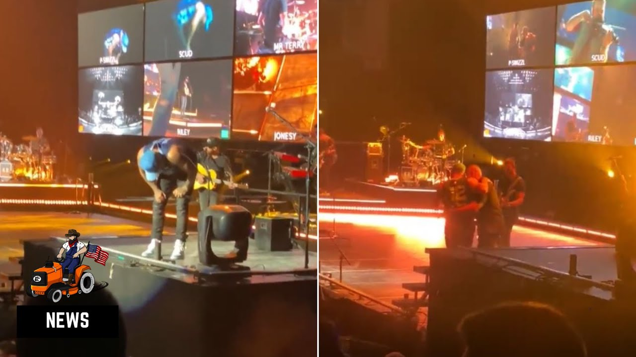 Kane Brown Injured In Accident On Stage, Powers Through The Rest Of The Show