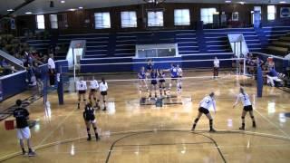 Northern Kentucky vs Rockhurst Volleyball Match Set 3 Part 2