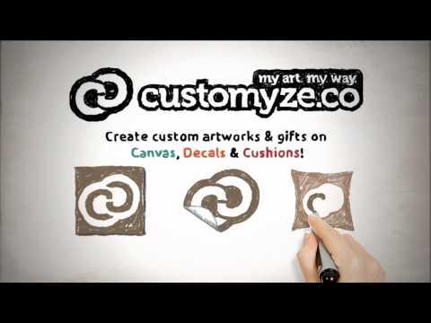 Customyze.co - Canvas Prints, Decals & Cushions!