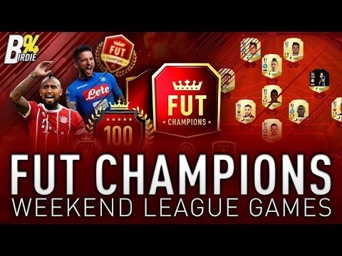 FUT Champions Weekend League - Can We Get Elite???