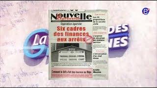 LA REVUE DES GRANDES UNES EQUINOXE TV DU VENDREDI 04 MAI 2018