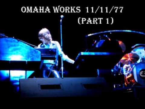 Emerson Lake & Palmer  Omaha Works 11/11/77
