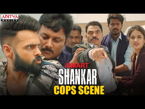 iSmart Shankar v/s Cops scene | Hindi dubbed movie 2020 | Ram Pothineni, Nidhi Agerwal, Nabha Natesh