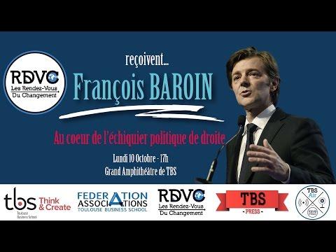 """Les RDVC reçoivent François Baroin : """"Au cœur de l"""