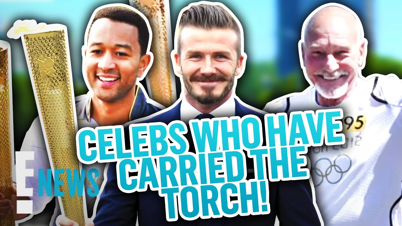 Celebrities Who've Participated in the Olympic Torch Relay News