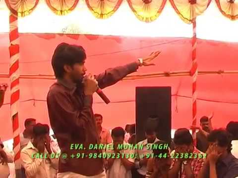 DANIEL MOHAN SINGH - LIVE DISPLAY OF GOD'S POWER - AWESOME ANOINTING - PUNE FIRE CONFERENCE