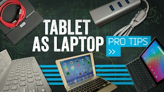 How To Make Your Tablet A Laptop