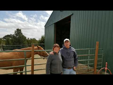 Dreams come true for Sally and Jeff Beecroft in Florence, Colorado at the RJ Ranch