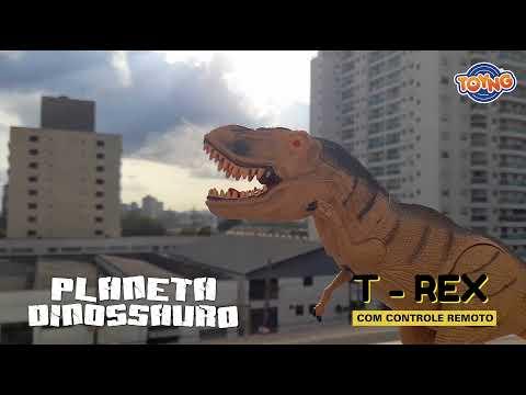Dinossauro T-Rex Com Luz e Som - 42402