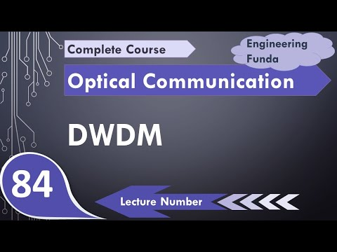 DWDM Basics, Architecture, Necessity, Operating Principle, Components, Types And Advantages