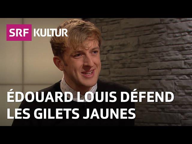 Edouard Louis: «C'est le system, qui est responsable!»  | Sternstunde Philosophie | SRF Kultur
