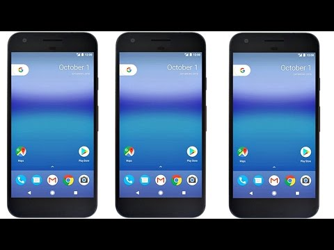 OMG!! THIS IS GOOGLE PIXEL w/ ANDROID 7.1 NOUGAT!!!
