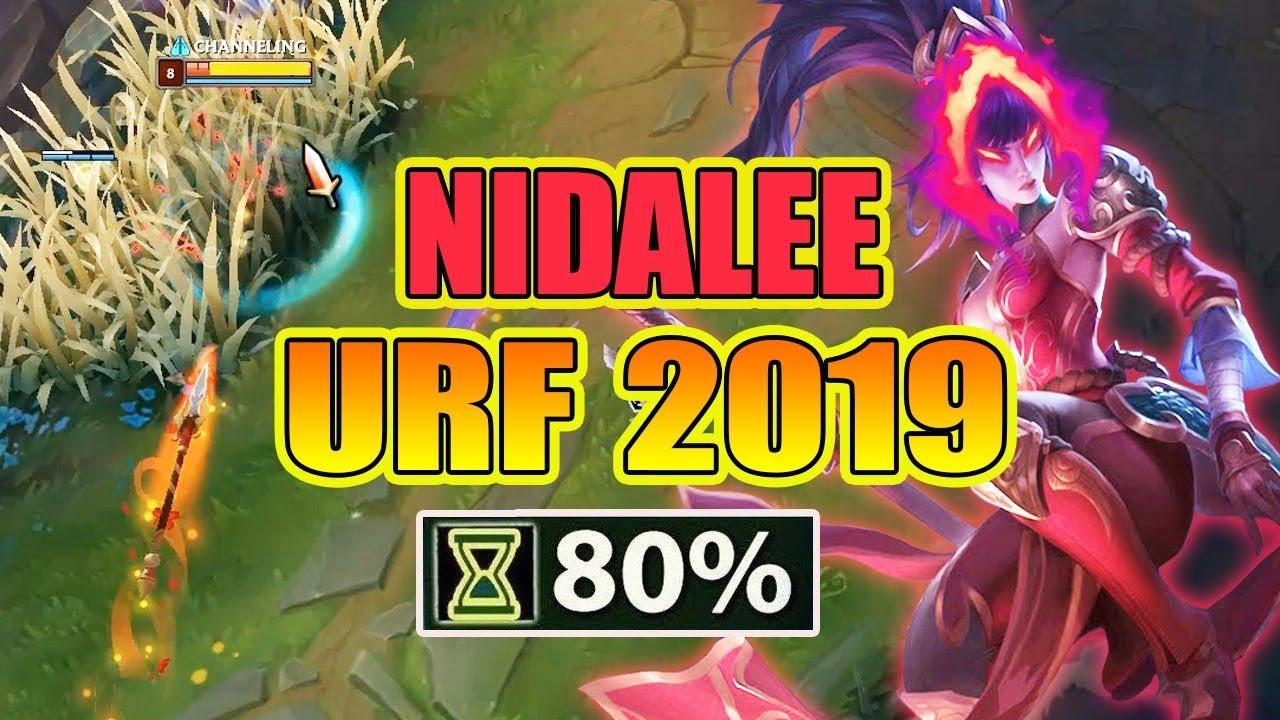 PHÁT KHÓC VỚI NIDALEE CHẾ ĐỘ URF 2019 !