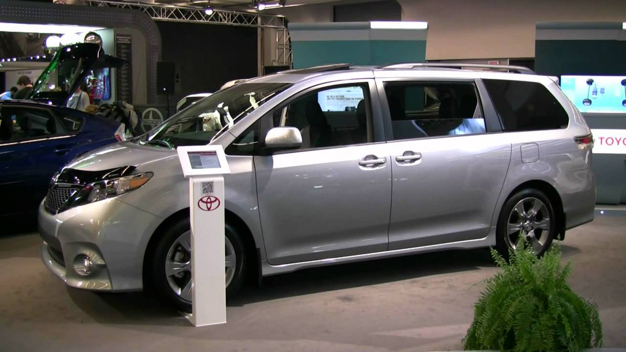 2012 Toyota Sienna Se Exterior And Interior At 2012