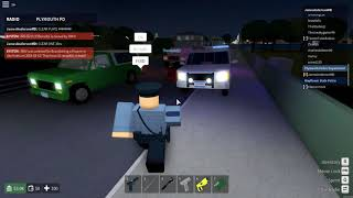 ROBLOX   Mayflower   Plymouth Police Department   CHECKPOINT!