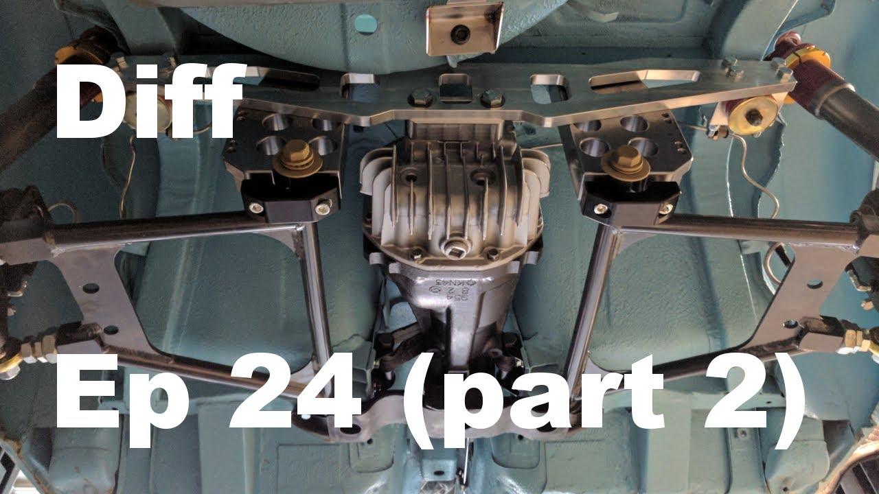 Datsun 240z Build - Episode 24 Part 2 - Differential Install - Panchos  Garage