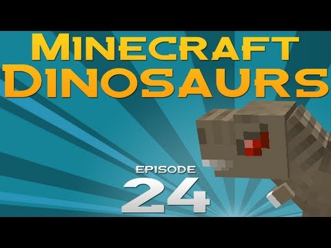 Minecraft Dinosaurs! - Episode 24 - WEAPON SHOP!