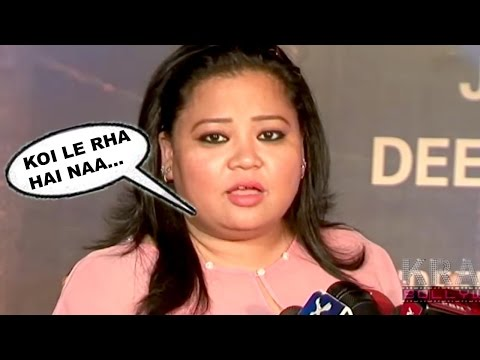 Bharti Singh Comedy At Sarbjit Movie GRAND Premiere RED Carpet 2016