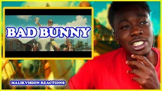 BAD BUNNY REACTION! Bad Bunny - Tu No Metes Cabra [Video Oficial] | 2018 LATIN MUSIC REACTION