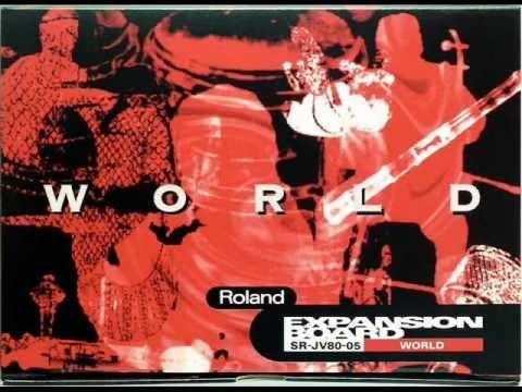 "DEMO Roland SR-JV80-05 ""World"""