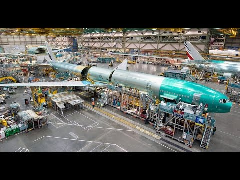 Boeing Everett Factory - Worlds Biggest AirPlane Building Documentary