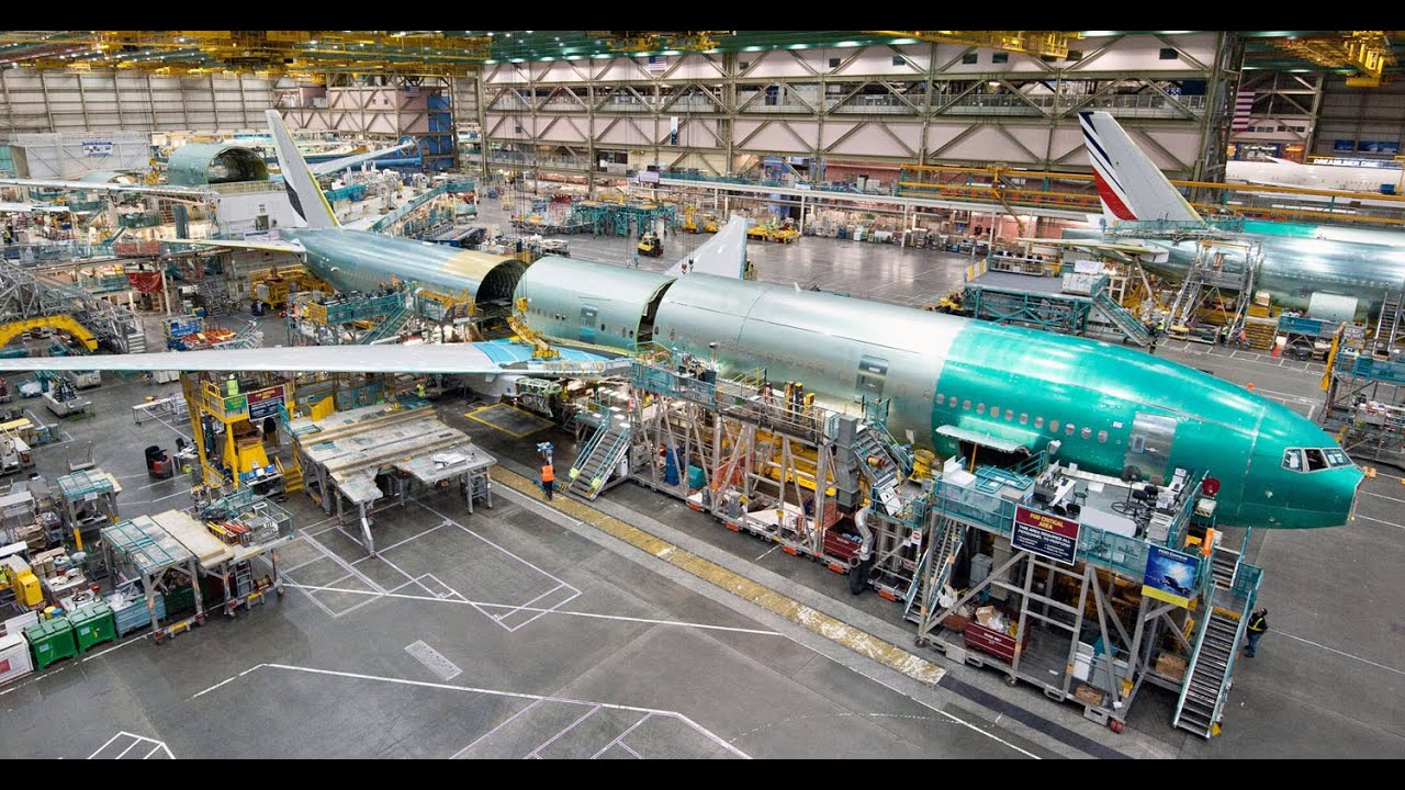 Boeing Airplane Factory Tour