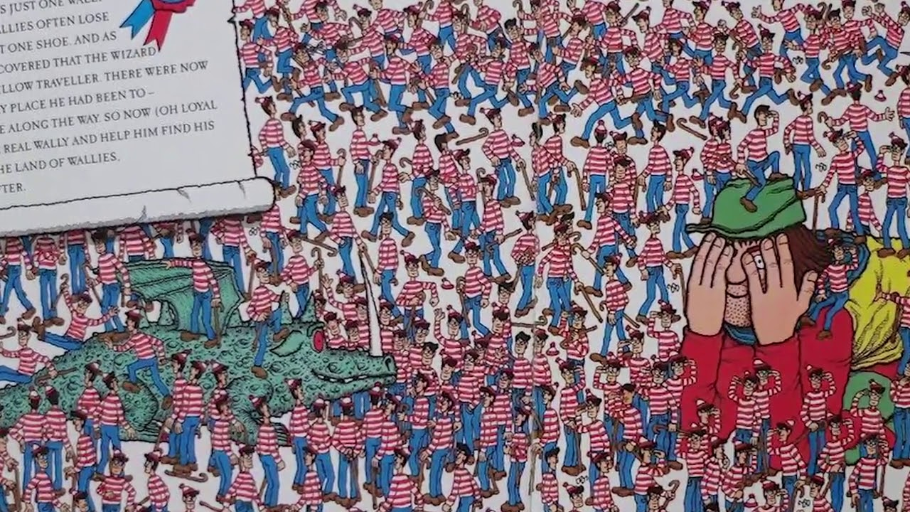 5 of the most difficult where s waldo puzzles youtube