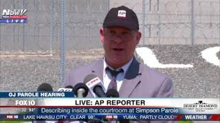 WATCH: AP Reporter Holds Press Conference After OJ Simpson Parole Hearing
