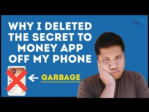 Why I Deleted The Secret To Money App Off My Phone Youtube