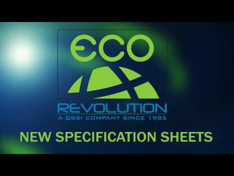 Eco-Revolution New Specification Sheets
