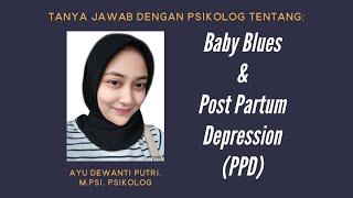 Hello friends! Di vlog ini aku membahas tentang post partum depression atau perasaan depresi setelah.