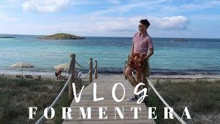 FORMENTERA IBIZA VLOG   Playa de Ses Illetes day trip   TRAVEL VLOG