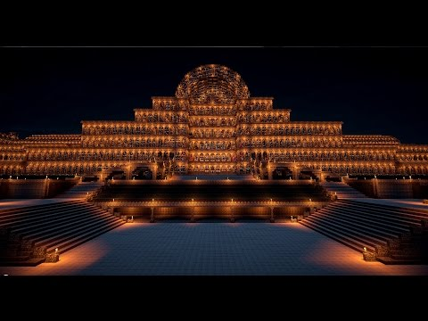 Minecraft Crystal Palace Sydenham 1:1 Scale (1854~1936 )
