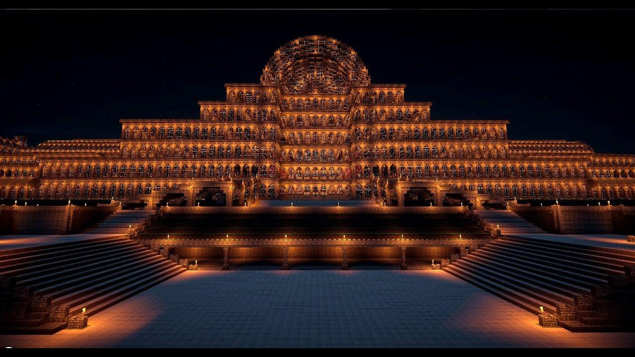 Minecraft Crystal Palace Sydenham 1 Scale 1854 1936