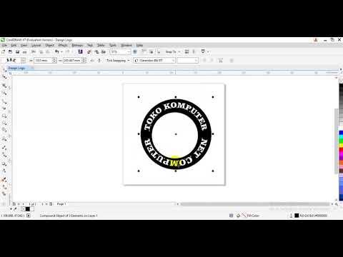CREATE LOGO CC, Cara Membuat Logo c Simpel dengan Coreldraw X7 || FIQI TUTORIAL kali ini saya akan m.