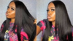 DIY: How To Install  A Flat Lace Closure Wig |Beginner Friendly| step by step