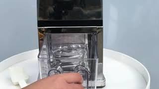 가정 캠핑용 팥빙수 커피 얼음 분쇄기 수동 미니빙수기h…