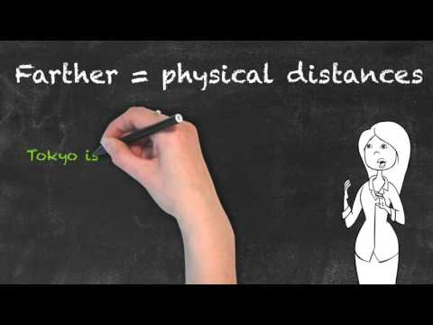 Further vs Farther   Ask Linda!   English Grammar