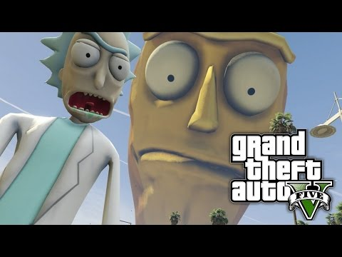 GTA 5  SHOW ME WHAT YOU GOT! Rick and Morty Mod