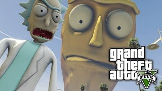 GTA 5 - SHOW ME WHAT YOU GOT! (Rick and Morty Mod)