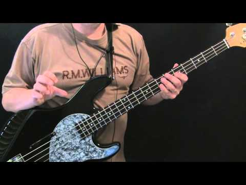 Bass For Beginners   Wonderful Tonight Eric Clapton