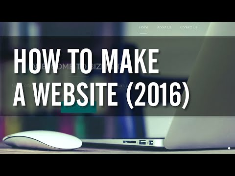 How to Make a WordPress Website 2016 – EASY!