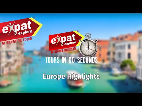 10 day Europe Highlights Tour (in 60 seconds)