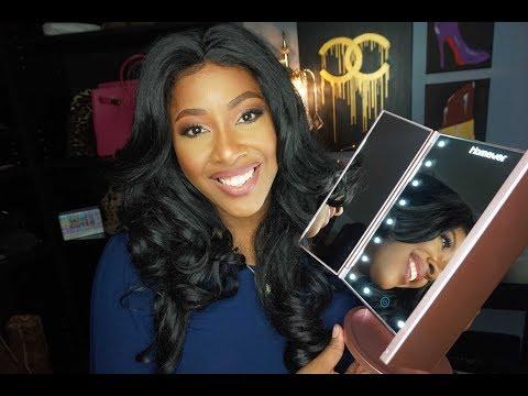 Affordable Glam Lighted Vanity Makeup Mirror  MakeupMesha